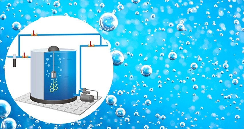 Очистка воды с помощью напорной аэрации