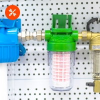 Замена фильтрующих картриджей типа 2,5x10, BB10, BB20, Scalex 200