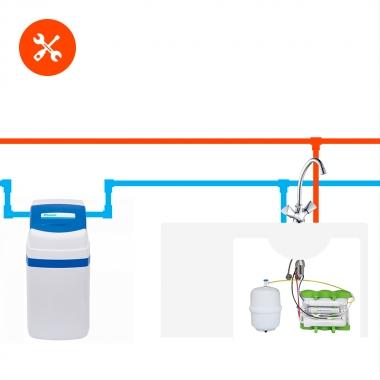Установка и пробный запуск компактного или классического фильтра для дома ВМЕCTЕ с фильтром для питьевой воды