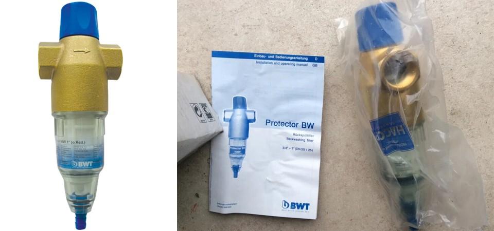 Преимущества BWT Protector BW 1''